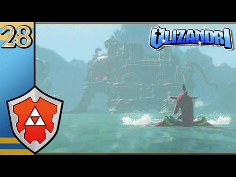 The Legend Of Zelda: Breath Of The Wild - Stopping The Flow, Boarding Vah Ruta  - Episode 28