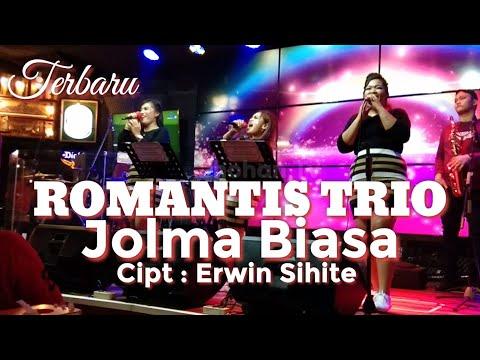 TERBARU ROMANTIS TRIO JOLMA BIASA MANTAP  LIVE CHAMPION CAFE