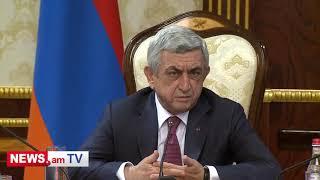 Մինչեւ 2040թ  Հայաստանի բնակչությունը պետք է 4 միլիոնի հասցնել  Սերժ Սարգսյան