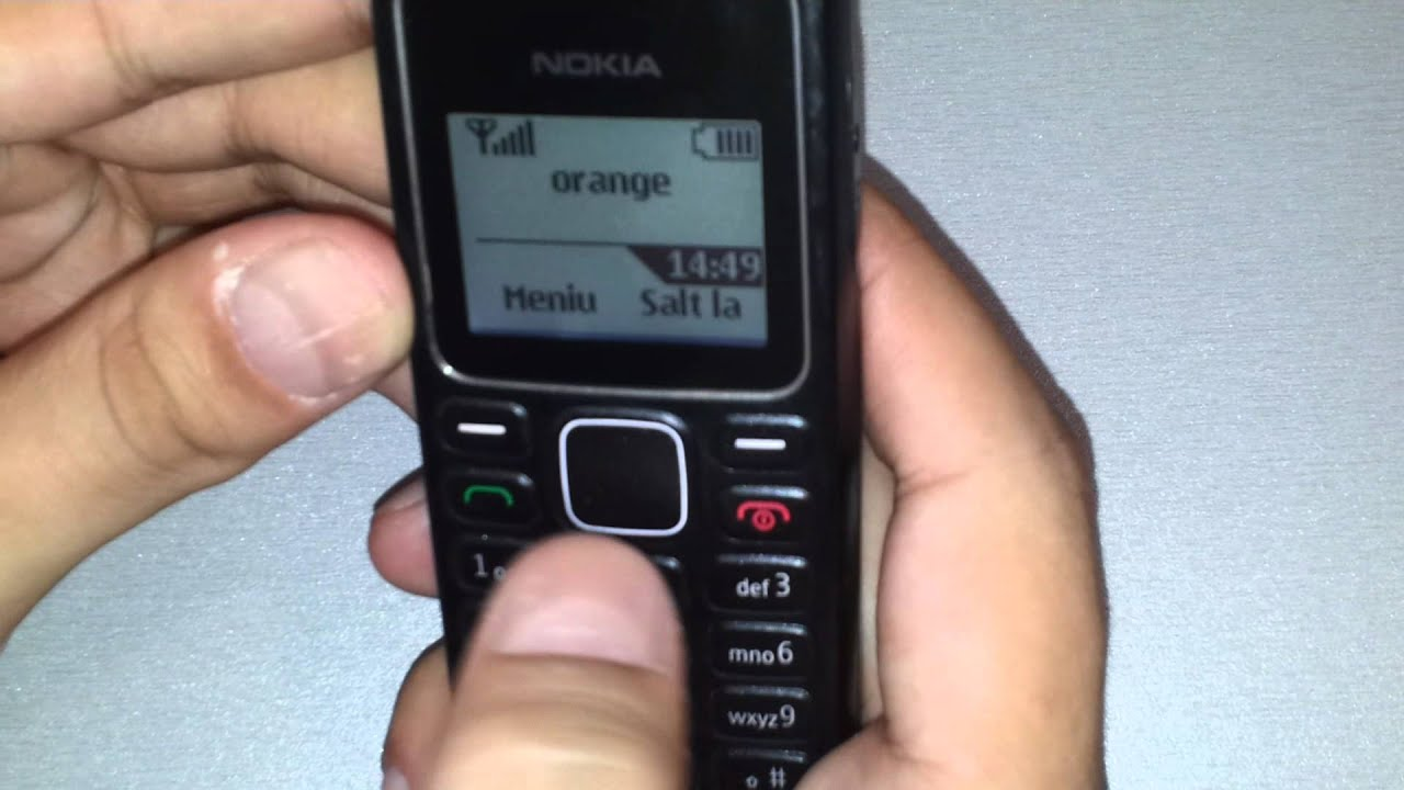 Nokia 1280 Prezentare Video