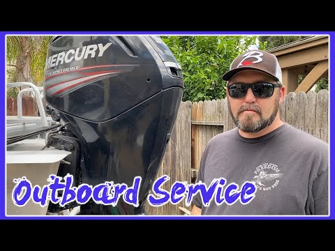 MERCURY OUTBOARD 75\90\115 ANNUAL SERVICE | HOW TO