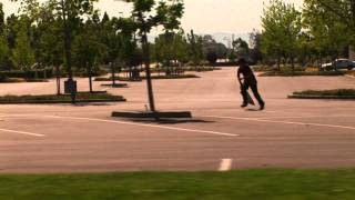 Mark Suciu Grass Gap Ollie Clip of the Week #1 BrailleSkateboarding.com