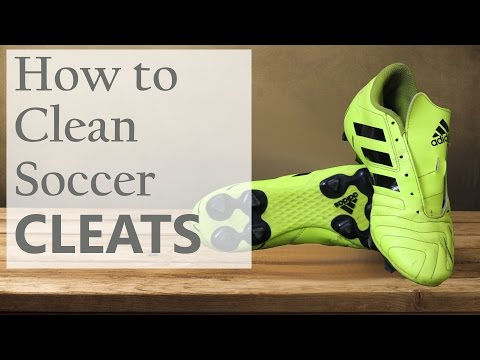 How to Clean Soccer Cleats