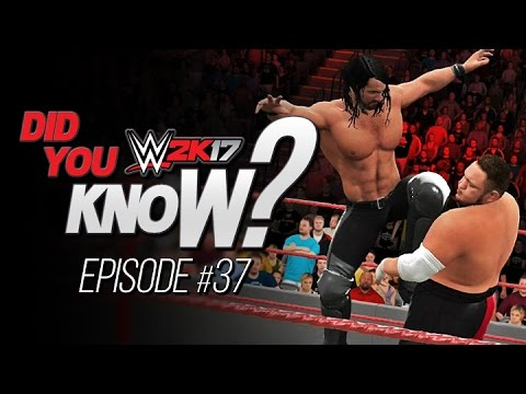 WWE 2K17 Did You Know? Seth Rollins New Finisher, Alternate