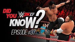 WWE 2K17 Did You Know? Seth Rollins New Finisher, Alternate Entrances & More! (Episode 37)