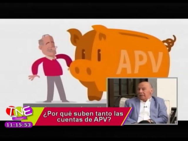 ¿Porque suben tanto las cuentas APV?