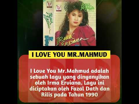 Lagu Dangdut Terbaik Sepanjang Masa - I Love You Mr. Mahmud - Irma Erviana