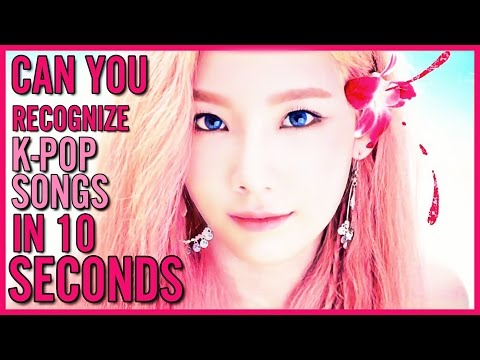 CAN YOU GUESS KPOP SONGS IN 10 SECONDS?