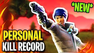 MY HIGHEST KILLS EVER IN A GAME of FORTNITE: BATTLE ROYALE | TBNRKENWORTH