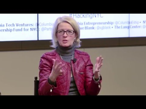 Hacking NYC -  Maria Gotsch Why The Partnership Fund for NYC Cares About Startups
