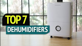 TOP 7: Best Dehumidifiers