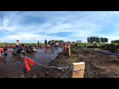 360 Video At 2018 Warrior Dash Minnesota Muddy Mayhem  (Best Viewed In 4K)