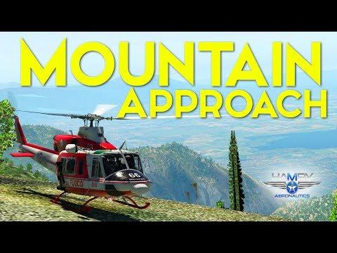Mountain Approach   Bell 412   X-Plane 11   Joshua Hamby