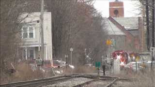 chasing cp 450 on the canadian pacific colonie main from cohoes ny to albany ny 3 4 12