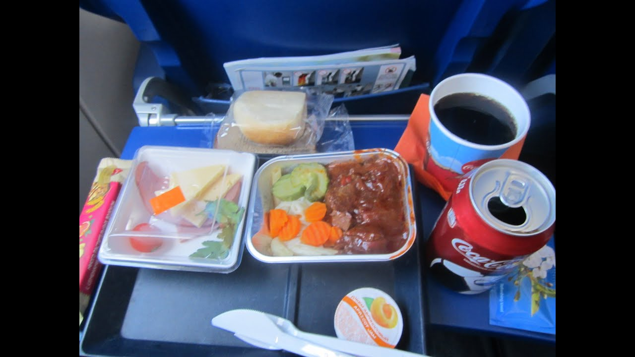 Aeroflot Food Review