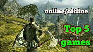 Top New 5  Best Games(offline/online)2018 for android/Games  Hub