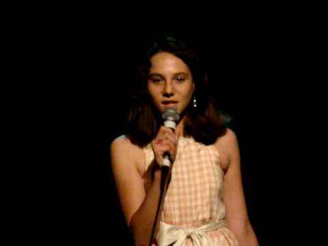 Veronica at the Margaret Manson Elementary School Variety Show 2010
