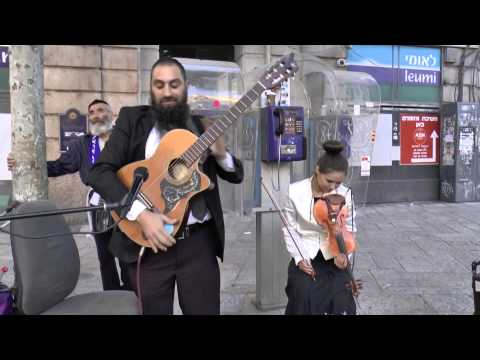 stairway to heaven: duo by Rabbi Tomer & Gypsy Lady - Jerusalem has Talent