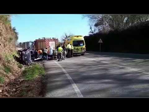 Accidente de tráfico en Samos