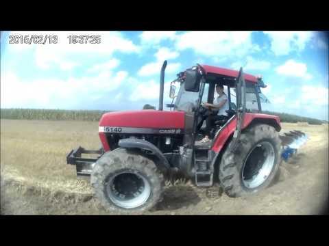Orka Uprawa 2015 / Case 5140 / Go Pro / Massey Ferguson 3080 / Dziewczyny na traktory