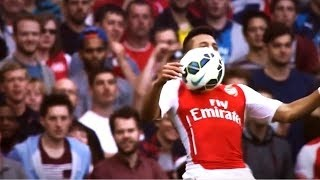 ... amazing chest control by alexis sánchez sánch...