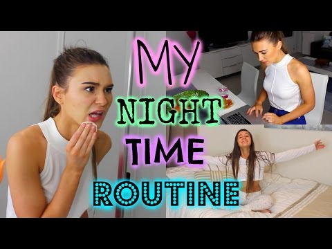 My Night Time Routine | Shanigrimmond