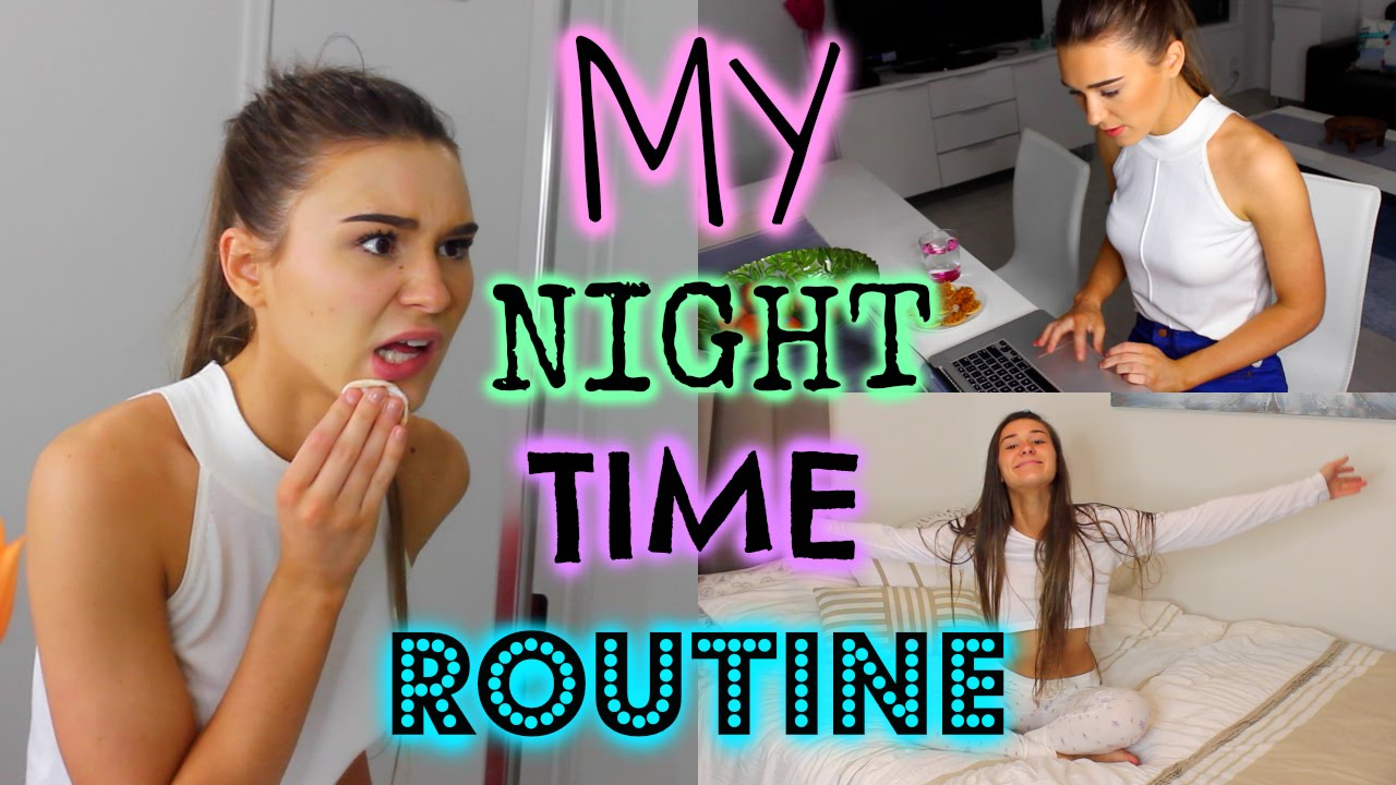 My Night Time Routine | Shanigrimmond - YouTube