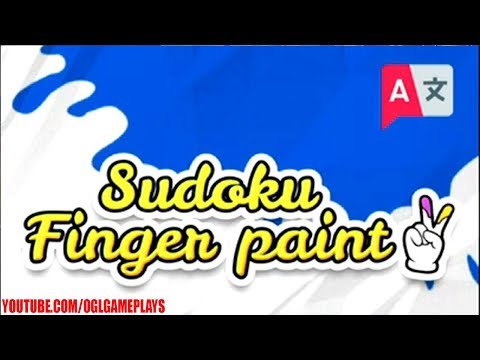 Sudoku Finger Paint Gameplay (By Formidablue) Android iOS