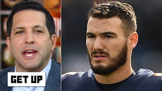 The Bears must plan to have QB options other than Mitchell Trubisky - Adam Schefter | Get Up