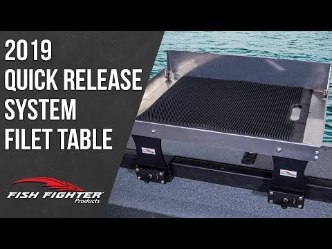 Quick Release System Fillet Table | Fish Fighter Products