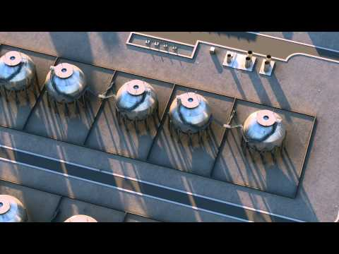 SmartPLANT 3D Oil Refinery Animation Rendered in 3DS Max
