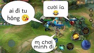 Troll Game _ Khi Jinna Rủ Đồng Đội Đi Tu Và Cái Kết Khắm Khú | Yo Game