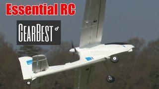 Volantex Ranger 757 Epo Fpv Platform And Trainer Rc Model: Essential Rc Flight Test (Gearbest.Com)