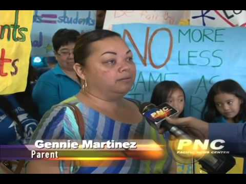 Guam Academy Charter School is demanding more Government Funding