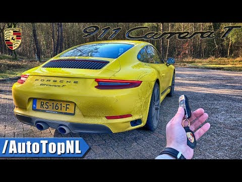 2018 Porsche 911 Carrera T REVIEW POV Test Drive by AutoTopNL