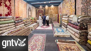The 25th annual Carpet Oasis exhibition opens it's door in Dubai to start the new decade
