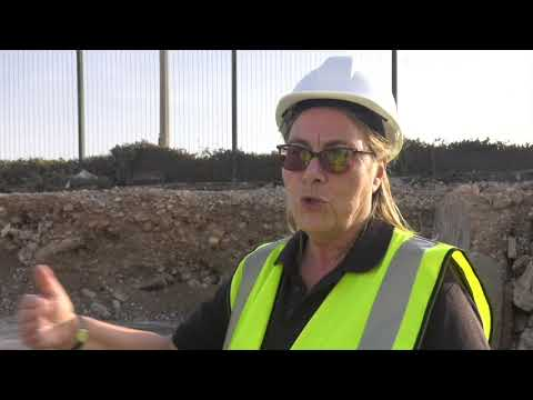 Archaeological survey of World War II remains at Lathbury Barracks - 17.10.17