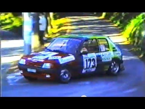 Rally Valle d'Intelvi (CO) 1990 - Guido Monfrini-Paolo Guaita - N. Gara 173 - Peugeot 205 Gti 1.9