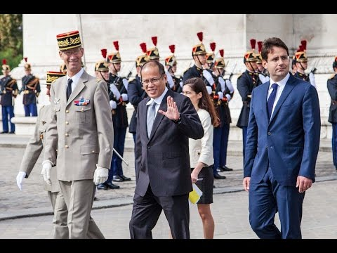 PRESIDENT BENIGNO S. AQUINO III - official visit Paris, France.