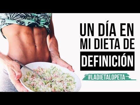 UN DÍA EN MI DIETA DE DEFINICIÓN | @lorenaonfit