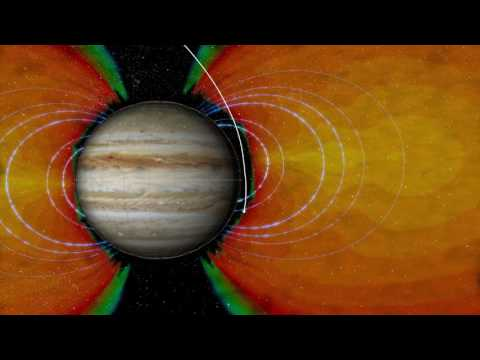 Animation of Radiation Environment for Juno's First Science Flyby