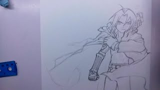 How I Draw Edward Elric from