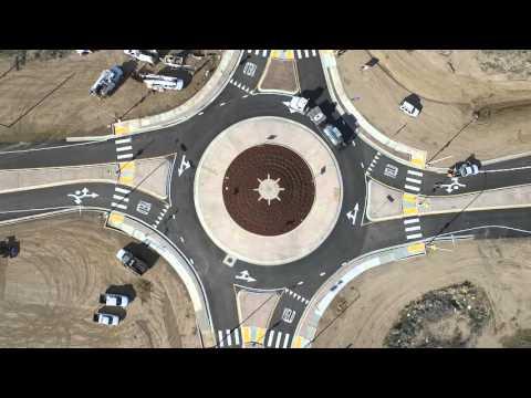 Roundabout - Avenue L & Challenger Way - Lancaster, CA