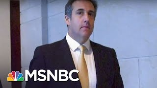 Heart Of The Search Of Donald Trump Lawyer Michael Cohen Tied To Stormy Daniels | MTP Daily | MSNBC