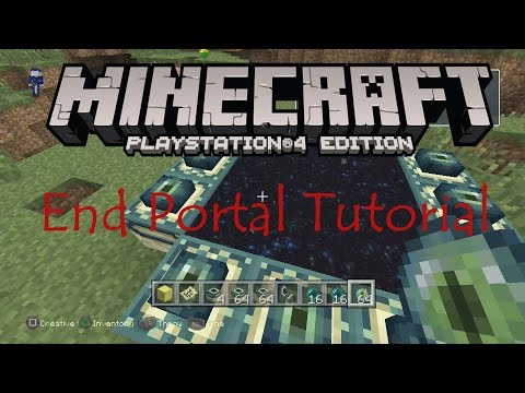 Minecraft - Playstation 4 Edition - 'How to Make an End Portal' Tutorial {Full 1080p HD}