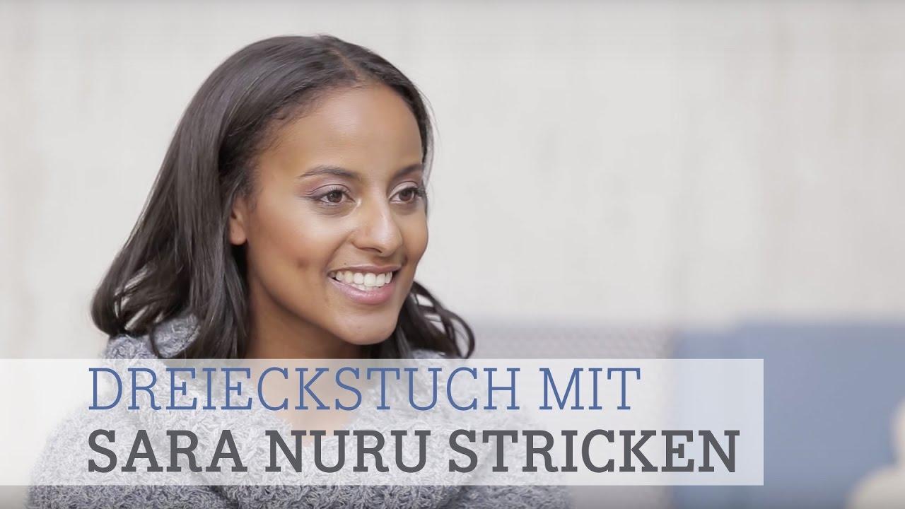 Stricke Mit Sara Nuru Das Dreieckstuch Softness Von Lana Grossa Und