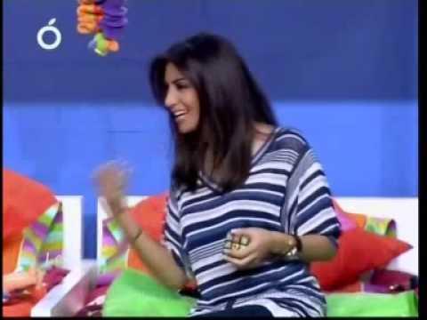 Rouwaida Attieh 3 june 2010 in La2la2a on OTV,, Best of part 1,,