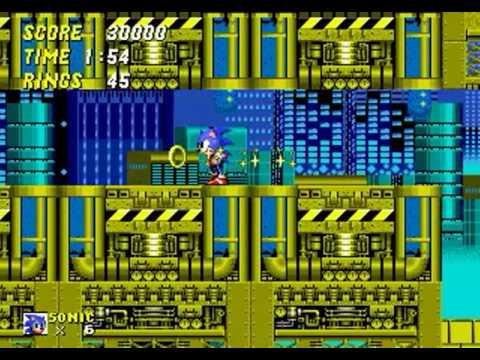 Sonic 2 Extreme (Genesis) - Longplay