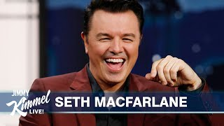 Seth MacFarlane on Criticism of Fox News, Family Guy COVID PSA \u0026 Being Too Anxious for Space