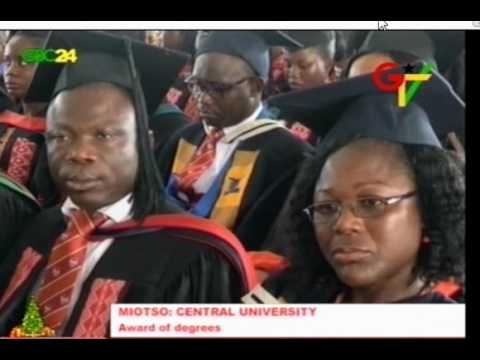 Central University Holds Graduation